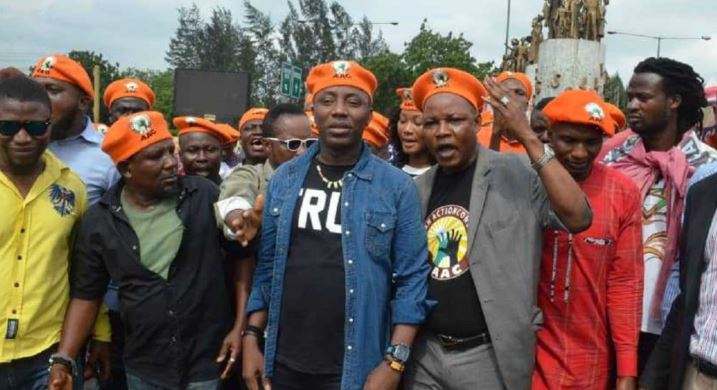 Sowore sues DSS  N500M for 'unlawful detention'