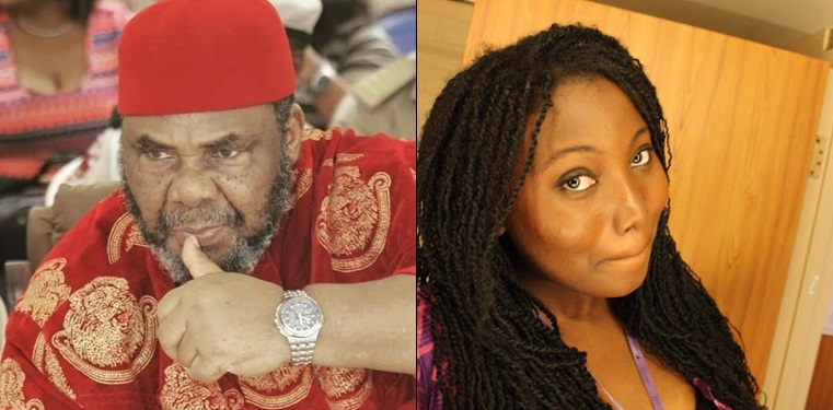Pete Edochie reacts to criticism by Twitter user, Sugabelly that he's 'a bad actor'