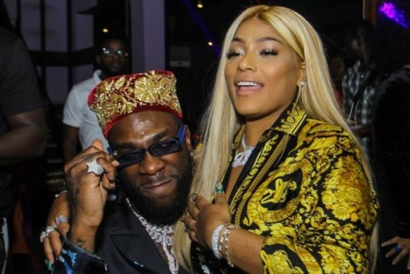Stefflon Don reveals what she did with Burna Boy last night