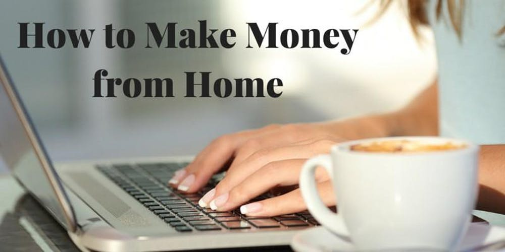 9 easy ways to make money from home