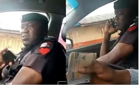 Bribe-collecting Policeman arrested