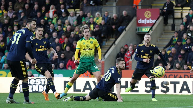 Arsenal saved from disgraceful defeat AGAIN despite sacking coach, play 2-2 with Norwich