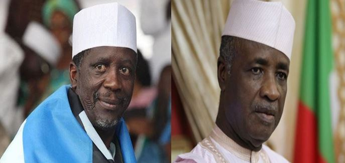 "Two former governors trade insult at airport, ""Show me you father and grandfather's grave,"""