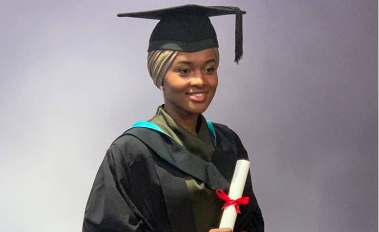 President Buhari's daughter graduates with first class from UK university