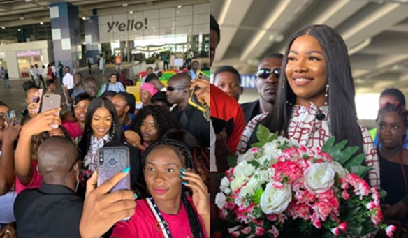 #BBNaija: We need to learn from Ghana – Tacha says as she enjoys her stay in Ghana (Video)
