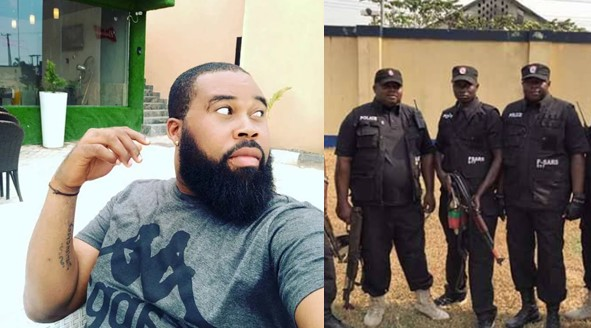 SARS extorted N55k from me, gave me N2k for transport – Actor Ben Blessing narrates experience