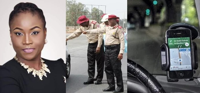 Lady narrates how she was arrested by FRSC for using Google map while driving