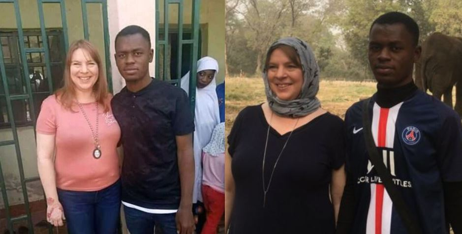 Hisbah Corps and DSS invite 26 years old Kano man whose 46 years old US lover he met online traveled down to see in Nigeria