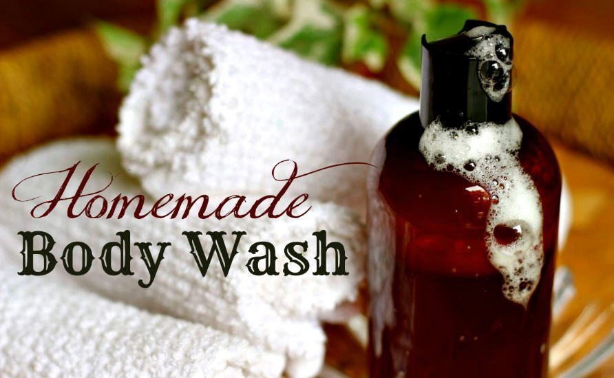 How to make homemade body wash