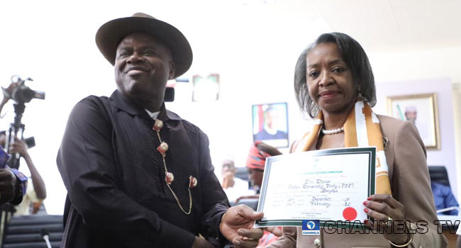 Official! Diri receives Certificate of Return as Bayelsa State's Governor-elect