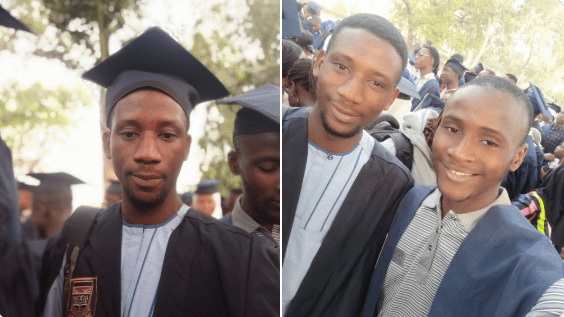 Man takes to Twitter to celebrate as he gets admission 8 years after leaving Secondary School