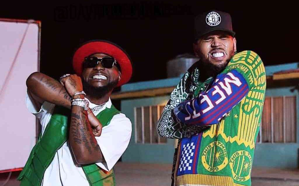 Davido's 'Blow My Mind' with Chris Brown surpasses 40m views on YouTube and 25m streams on Spotify