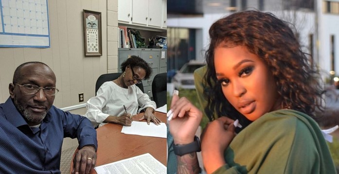 Lady celebrates her parents over the purchase of their 7th family house (Photos)