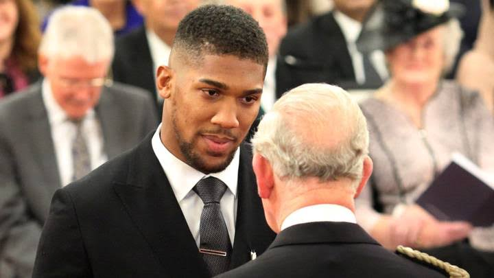 Anthony Joshua in self-isolation after meeting Prince Charles days ago