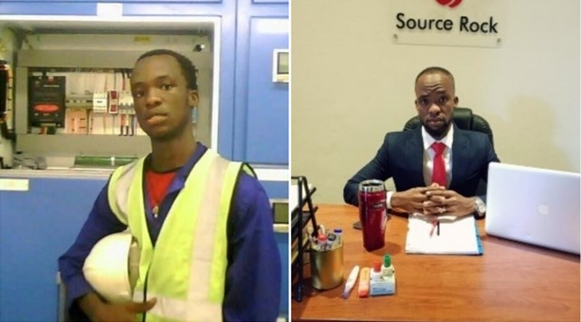 Success Story: Young man goes from being a security man to owning an Oil and Gas firm (Photos)