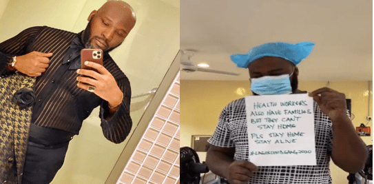 Photographer who attended AMVCA, Seun confirms he is positive for coronavirus