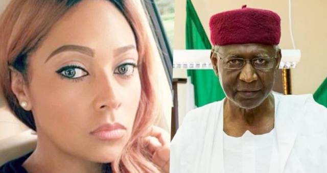 VIDEO: Peter Okoye's wife, Lola demand whereabouts of Abba Kyari, says Nigerian need to know location of the Chief of Staff