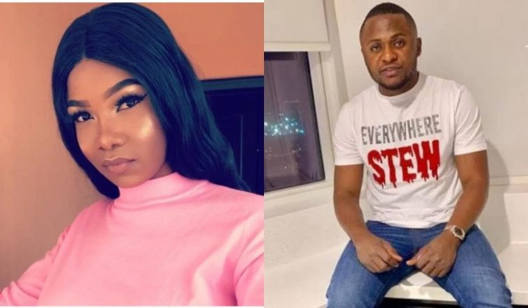Tacha hits back at Ubi Franklin for saying she insulted him