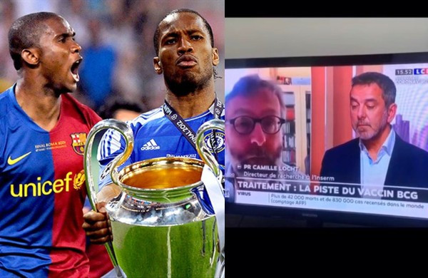 """Football legends, Drogba and Eto'o slam French doctors for Coronavirus test comments, say """"Africa is not a testing lab"""""""