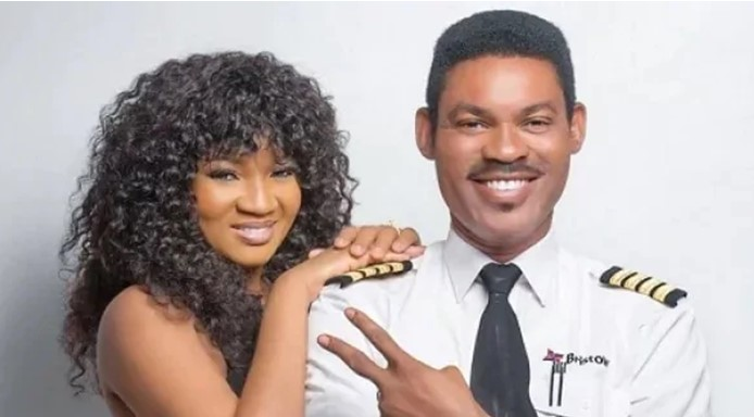 Omotola battles anxiety as three of her kids remain abroad and her husband flies amid COVID-19 concerns