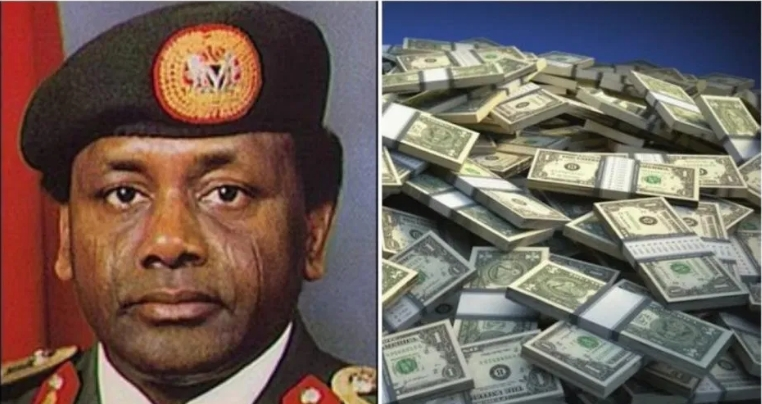 Nigerians dig up clip of Abacha revealing how he diverted funds (Video)