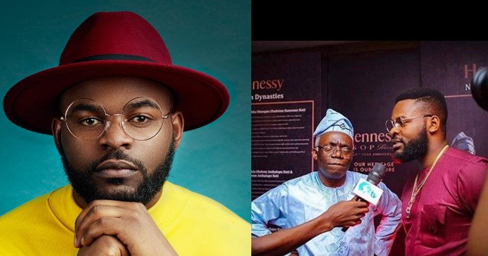 You have been an amazing father, role model and icon – Falz celebrates his father, Femi Falana on his birthday