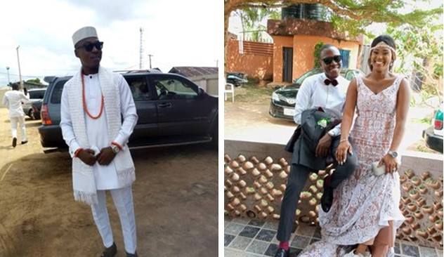 Man narrates how his wife feigned health attack to save him after being arrested for not wearing mask