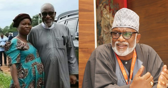Snail seller meets her longtime customer who is now Ondo State Governor, Rotimi Akeredolu