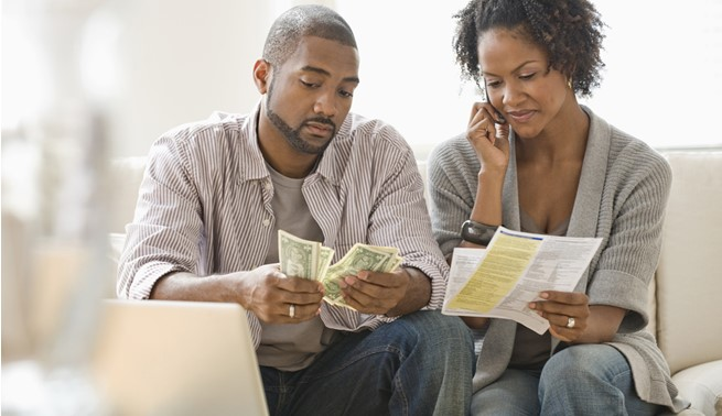 Happily married woman pays off all her husband's debt
