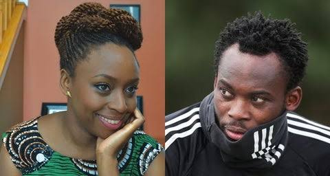 Novelist Chimamanda Adichie reveals the Premier League footballer she had a crush on