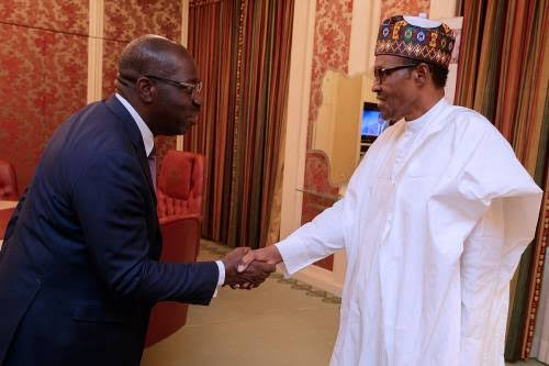 OFFICIAL: Governor Obaseki dumps APC after meeting with Buhari