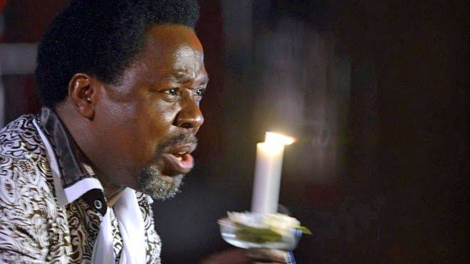WATCH: TB Joshua engages in heated exchange with 'Lucifer' in viral video