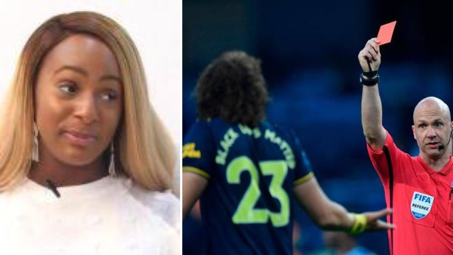 DJ Cuppy throws shades at Arsenal's David Luiz following contract extension