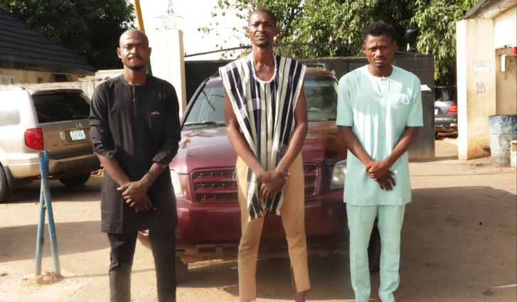 Police arrest 3 brothers for the kidnap and murder of a mother of 5 in Abuja – Body of the deceased exhumed for forensic examination