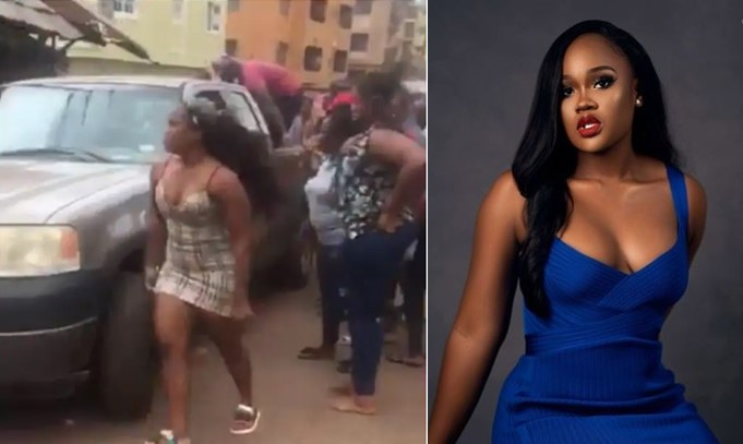 My car knocked down somebody – CeeC shares details of her auto accident