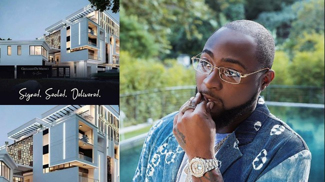 Davido reacts to report that he's under investigation over his multi-million naira Banana Island mansion