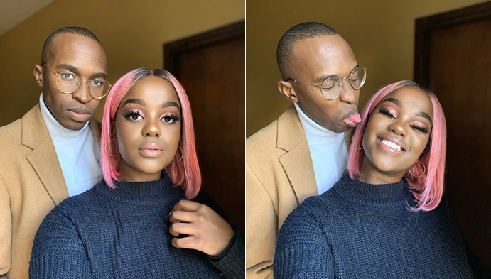 Lady gushes over her man, reveals how happy she is for replying his DM (Photos)