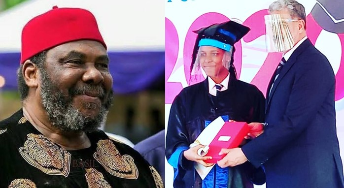Veteran, Pete Edochie's autistic granddaughter graduates from U.S. high school