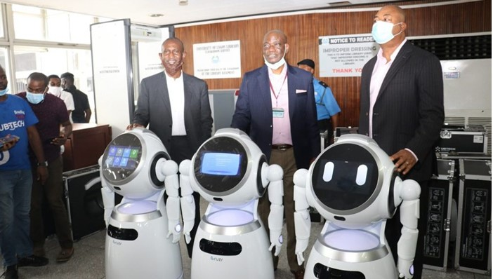 UNILAG becomes first university in Africa to acquire COVID-19 profiling robots