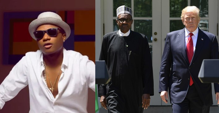 Buhari and Trump are the same, they're both clueless – Wizkid