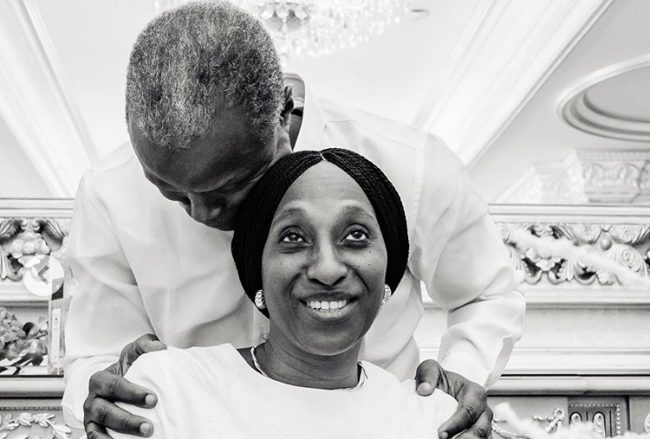 Vice President Osinbajo writes sweet message to his 'best friend' on her 53rd birthday