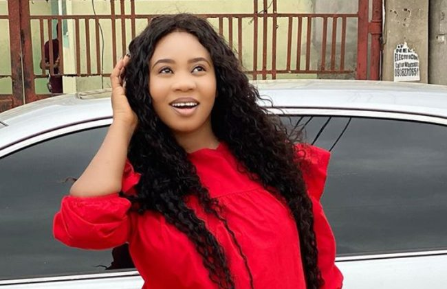 Actress Wumi Toriola reveals she is tired of breastfeeding