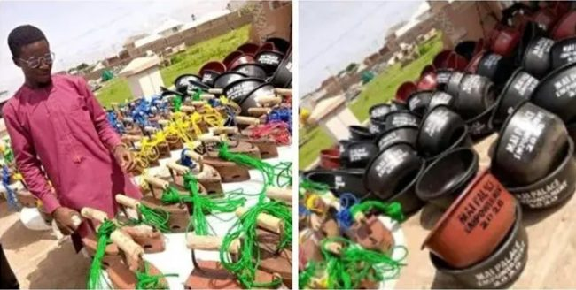 Zamfara lawmaker empowers constituents with detergent, washing bowl