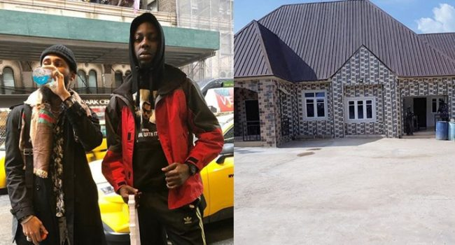 Phyno's official Disc Jockey, DJ Jmasta builds new house for his parents