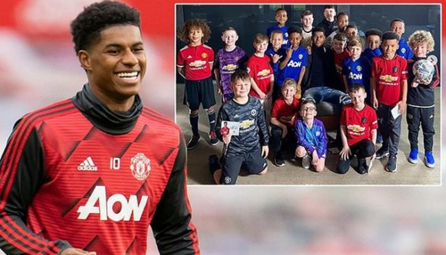 Rashford gets honorary doctorate for his work against child poverty