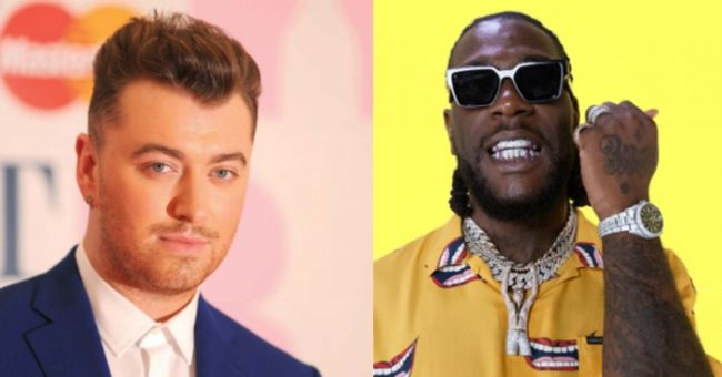 Sam Smith's lead track featuring Burna Boy to drop on Thursday