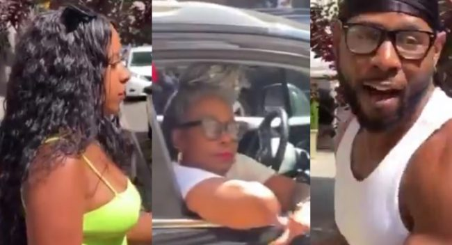You should go to the back seat, I'm his wife – Woman argues with her husband's mother over sitting position in the car (Video)