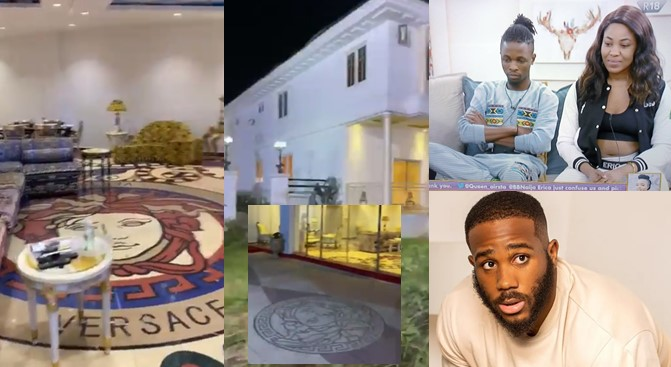 """Laycon, I take God beg you, don't look at Erica again"" – Fan says, shares video of Kiddwaya's mansion"