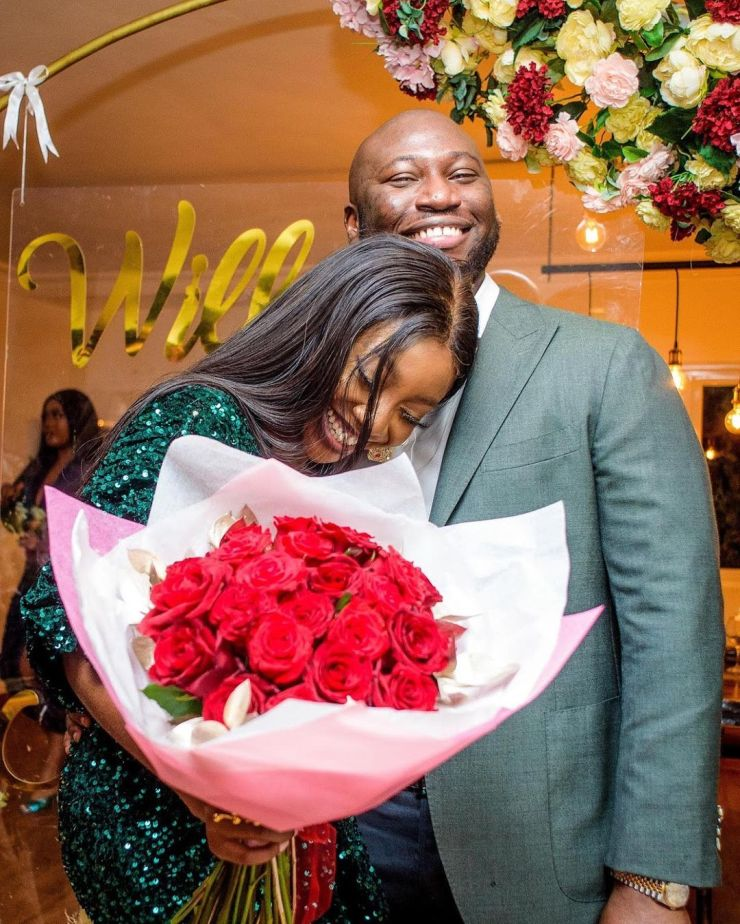 """Actress Ini Dima-Okojie is engaged to her """"Instagram fan"""""""