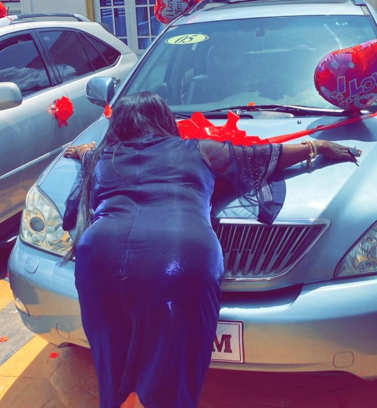 Young man buys matching Lexus SUVs for his dad and mum (Photos/Videos)